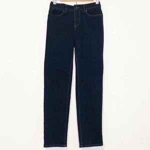 LIKE NEW!  TALBOTS-Straight Leg Jeans. Size 4.